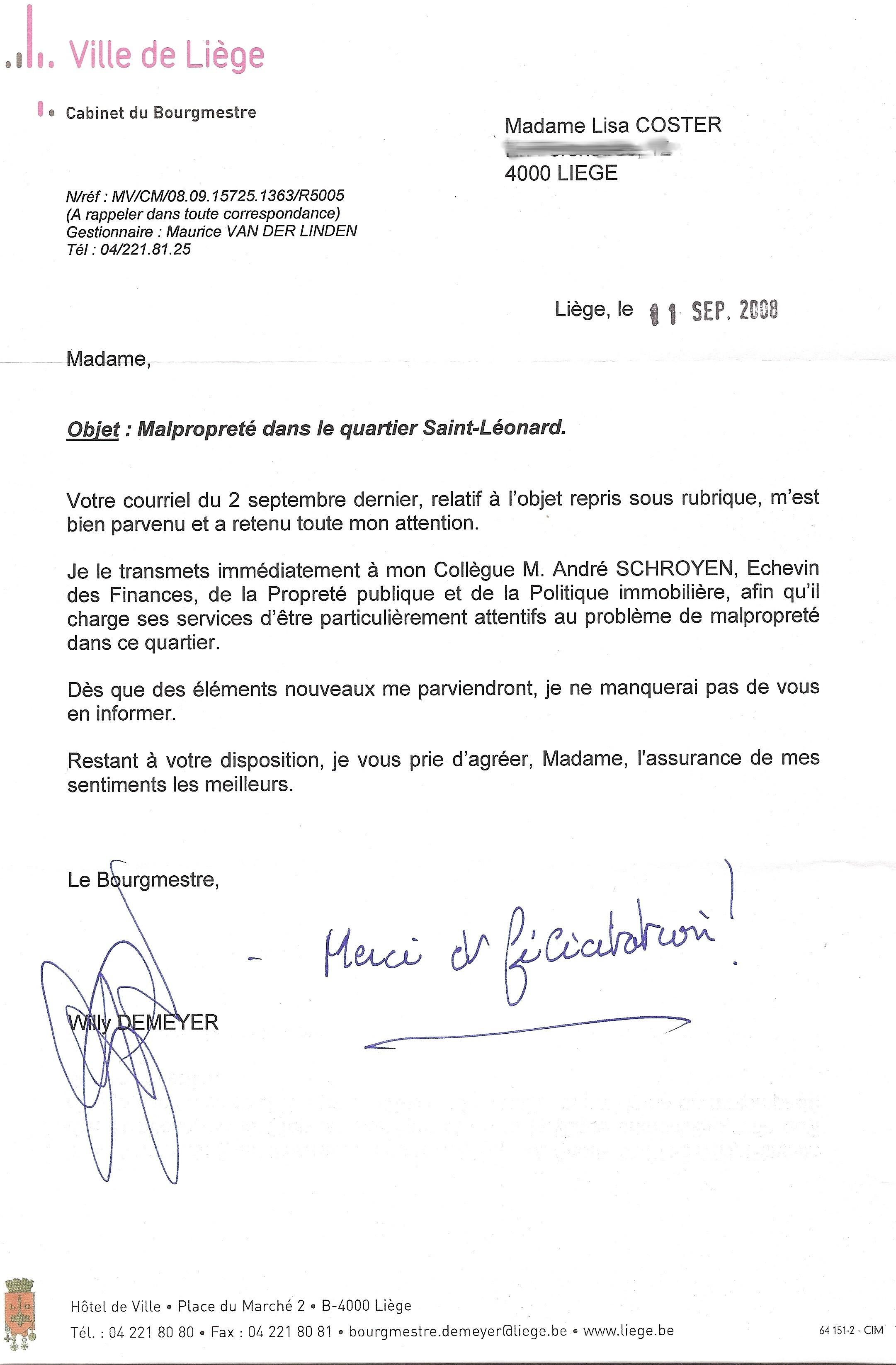 gefeliciteerd brief september | 2008 | Lisa in Luik | Pagina 2 gefeliciteerd brief